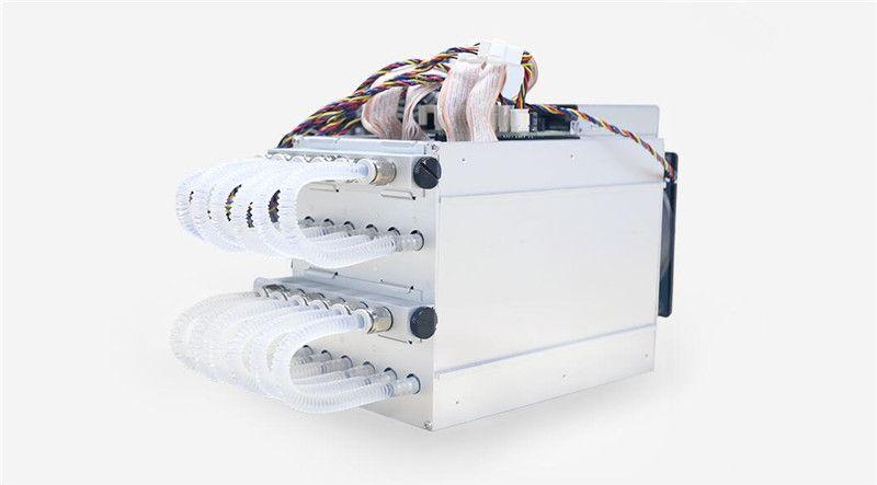 BITMAIN Wasser Kühlung BTC Miner AntMiner S9 Hydro 18T Mit Power Versorgung APW5 Asic Bitecion BCH Bergmann, geräuscharm, Energie Sparen!