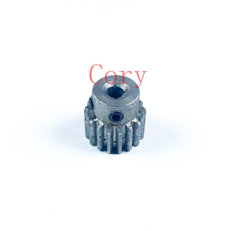 Gray Metal 5/6/6.35/8mm Inner 17 Teeth Brushless Motor Axial Pinion Gear for RC Model