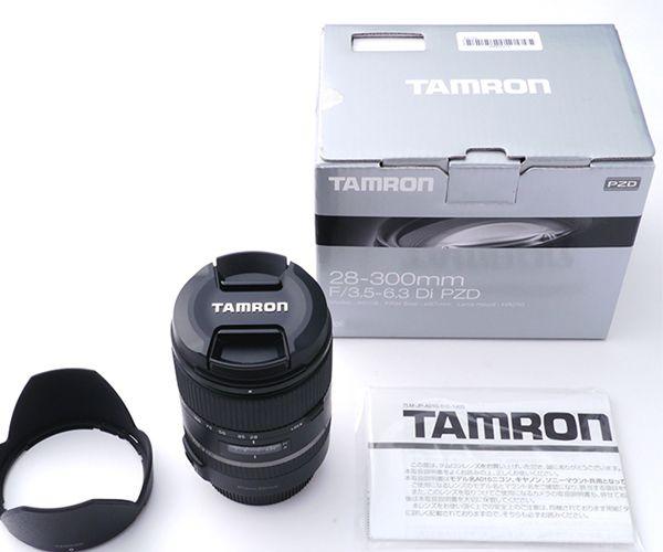 New Tamron 28-300mm F3.5-6.3 Di VC PZD Lens For Canon