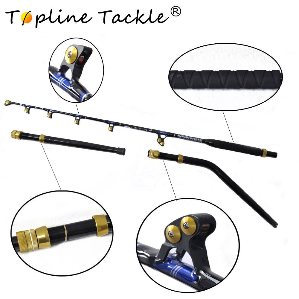 2018 TopLine Tackle BlueSpear 130lbs 6'6