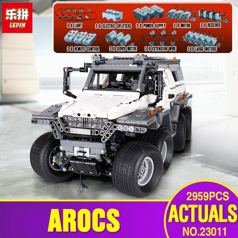 DHL LEPIN 23011 Technic Series Off-road vehicle Model Educational Toys Building Kits Block Bricks Compatible With legoing 5360
