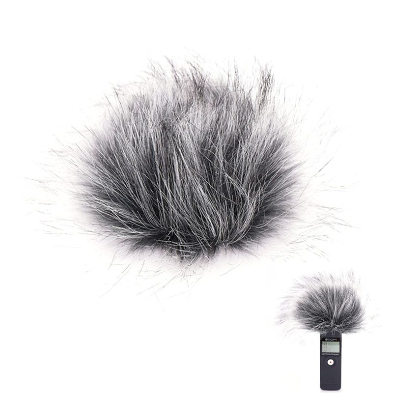 Ulanzi Outdoor Dusty MIC Furry Cover Windscreen Windshield Muff For ZOOM H1 Microphone Profession Microphone Accessoriessories