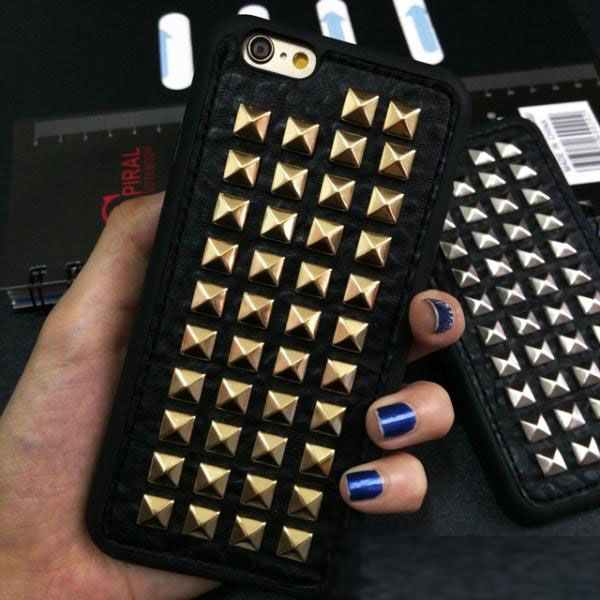Dower Me 3D Weiche TPU Kühlen Rock Punk Spikes Stud Niet Telefon Fall-abdeckung Für Iphone X 8 7 6 6 S Plus 5 5 S SE
