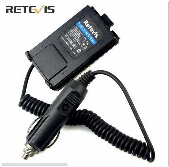 Car Battery Eliminator For Baofeng UV 5R Walkie Talkie Accessories Charger For Baofeng UV5R Retevis RT5R Portable C9011A
