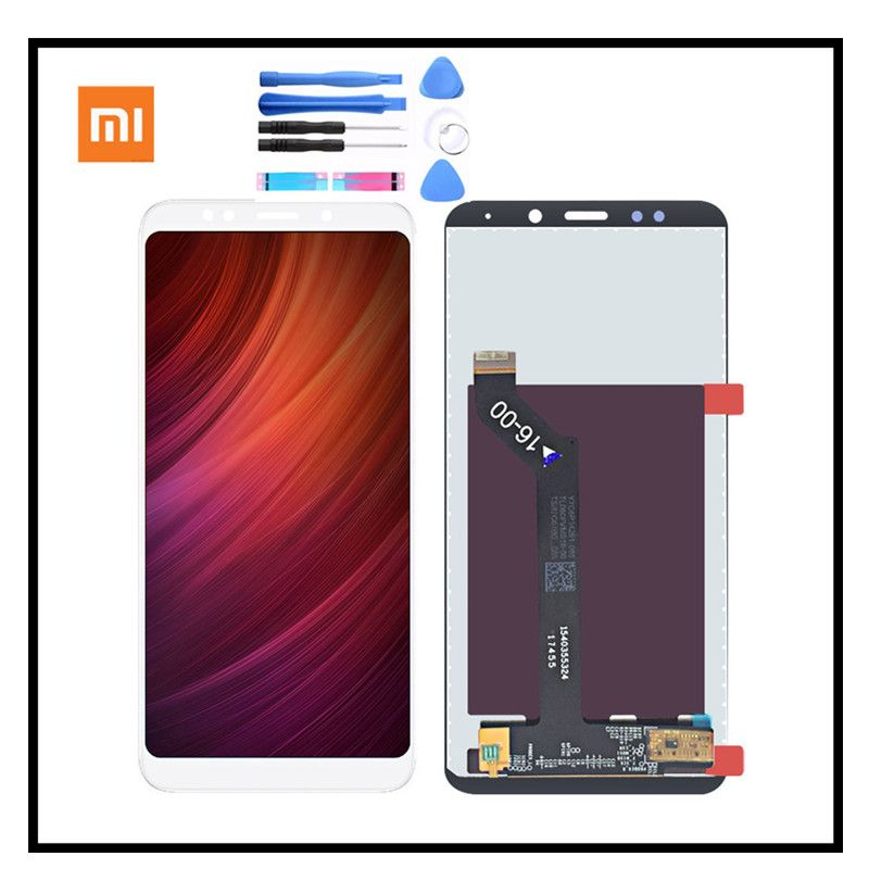 100% Orginal Xiaomi Redmi 5 Plus LCD Display Touch Screen no Frame 5.99 Digitizer Assembly Replacement For Redmi5 Plus lcd
