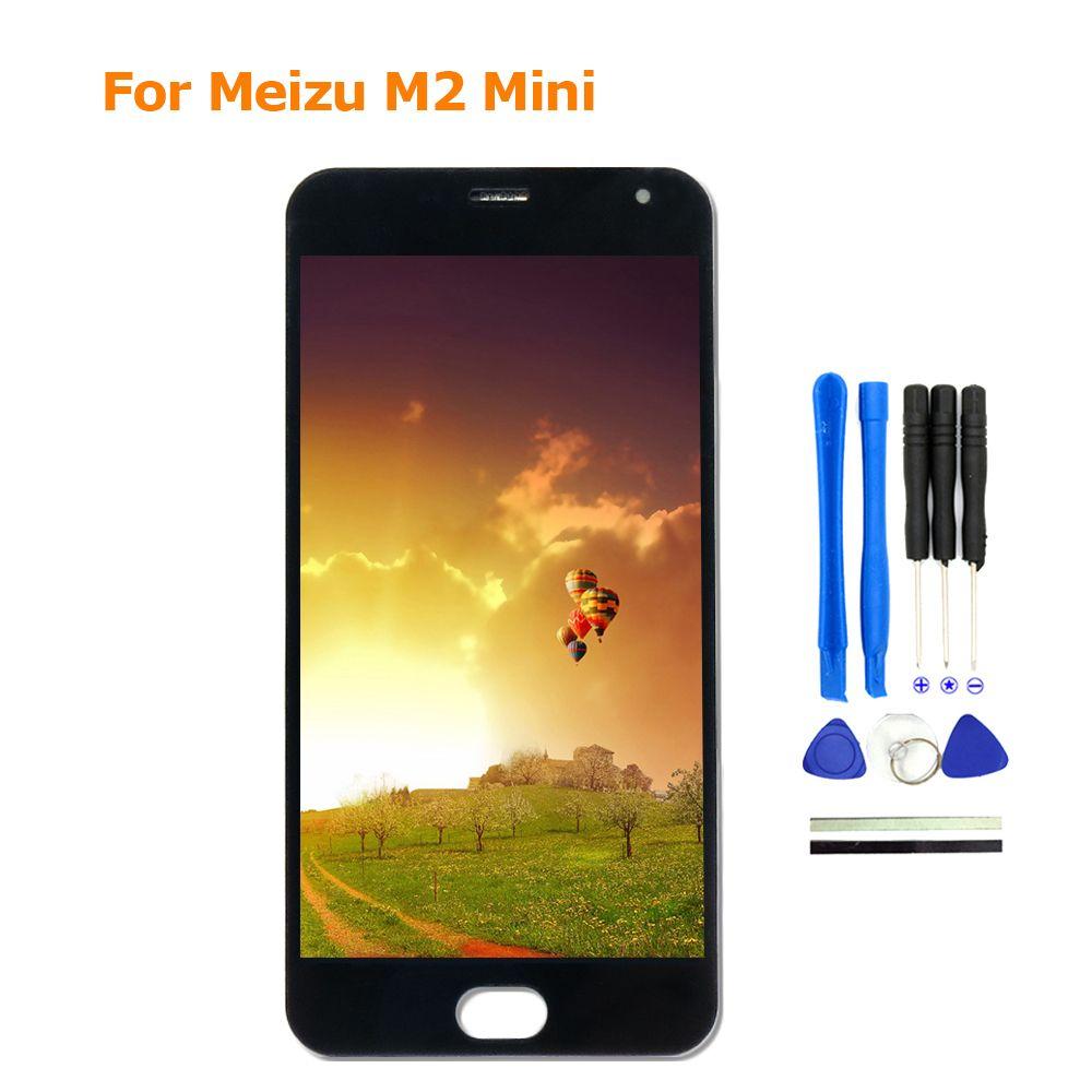 100% Nouveau Pour Meizu M2 mini affichage lcd + Digitizer Tactile remplacement de l'écran 5 Pouces Meiblue M2 mini téléphone Pièces Avec Des Outils Libres