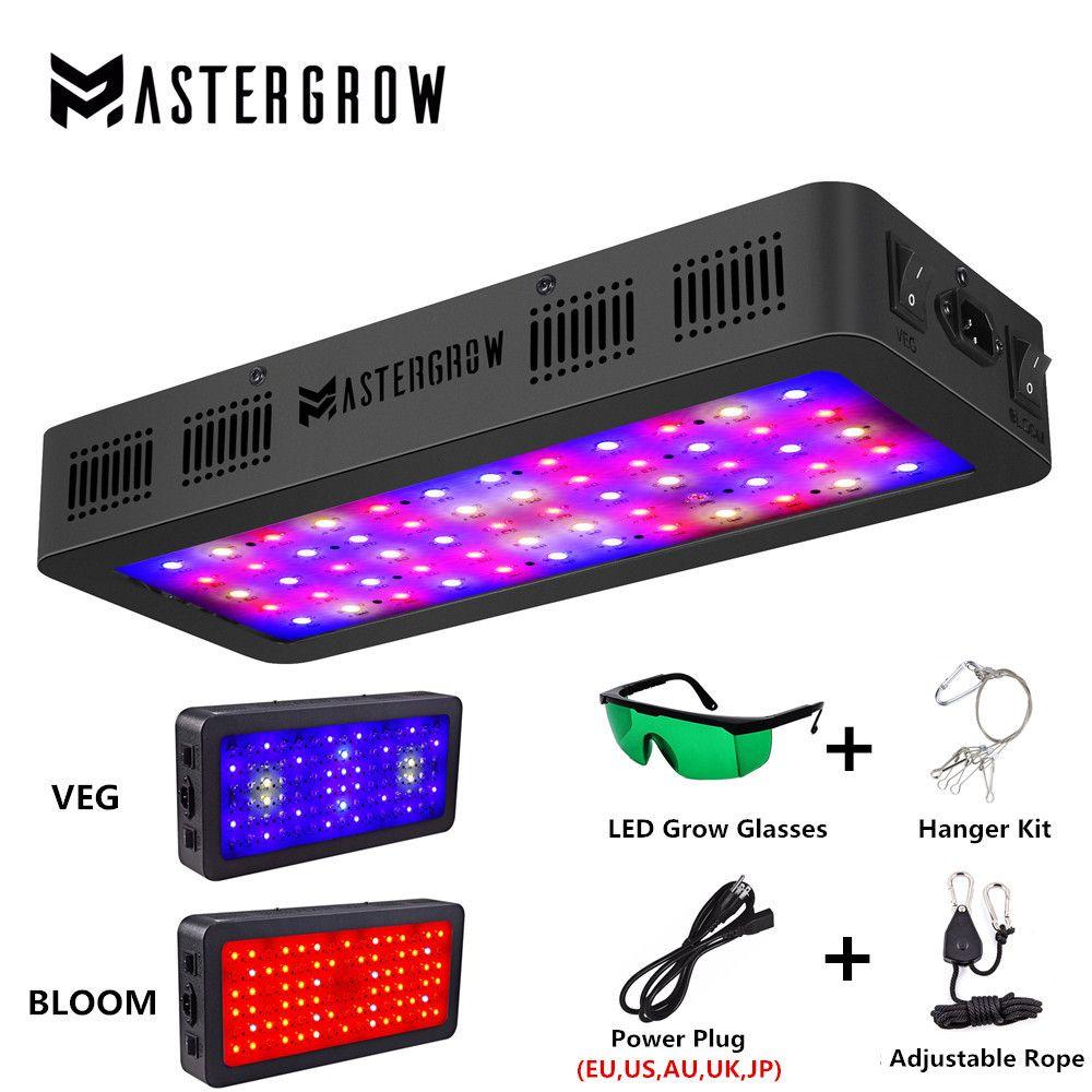 Doppel Schalter 600 W 900 W 1200 W Volle Geführte spektrum wachsen licht mit Veg/Blüte modi für Indoor gewächshaus wachsen zelt pflanzen wachsen led