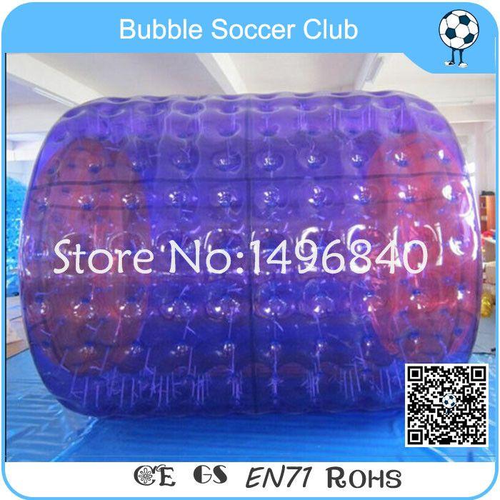 Freies verschiffen 1,0mm TPU Aufblasbare Wasserrollenkugel Walk On Water Ball Aqua Rollkugel, Roller Rad Für erwachsene Oder Kinder