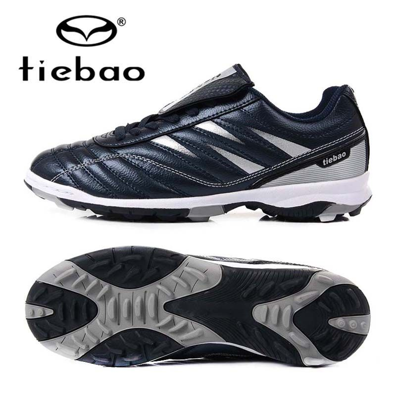 TIEBAO Brand Professional Soccer Football Shoes Men Women Outdoor TF Turf Soccer Cleats Athletic Trainers Sneakers Adults Boots