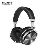 Bluedio T4 Active Шум Отмена наушники Беспроводной Bluetooth гарнитуры с микрофонами для телефонов iphone xiaomi