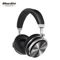 Bluedio T4 cancelación activa de ruido auriculares inalámbricos bluetooth 4.2 con micrófono incorporado