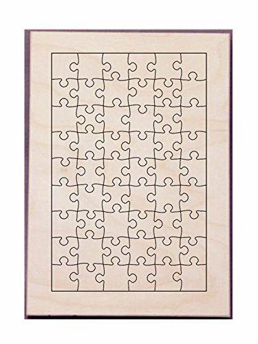 Puzzle Maker Die Make Puzzle26x17cm-54PCS Seel Rule Puzzle Die Size 11.7