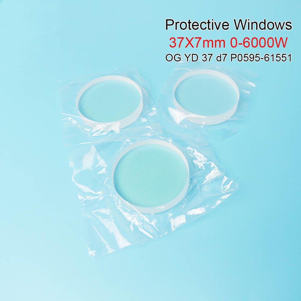 Faser laser schutzhülle windows und Precitec keramik OG YD37 d7 37*7mm P0595-58601 0-6000 W für precitec Procutter kopf Ermaksan
