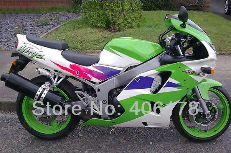 Hot Sales,94 95 96 97 ZX-6R 1994 1995 1996 1997 Fairing kit For kawasaki Ninja ZX6R 1994-1997 Multi-color Motorcycle Fairing