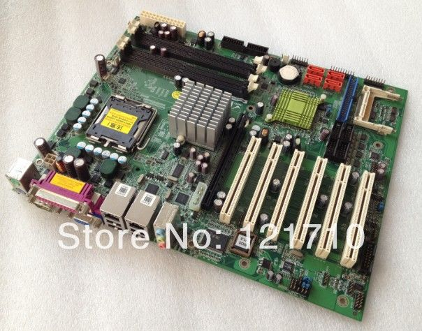 Indstrial equipment baord IEI IMBA-9454 IMBA-9454G-R10-NOCB-BULK V1.0 LGA775 with 6*pci interface