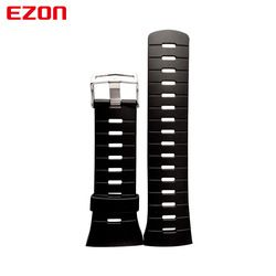 EZON Olahraga Watch Asli Karet Silikon untuk Jam Tangan Tali Watchband untuk L008 T023 T029 T031 G2 G3 S2 H001 H009 T007 T037 t043
