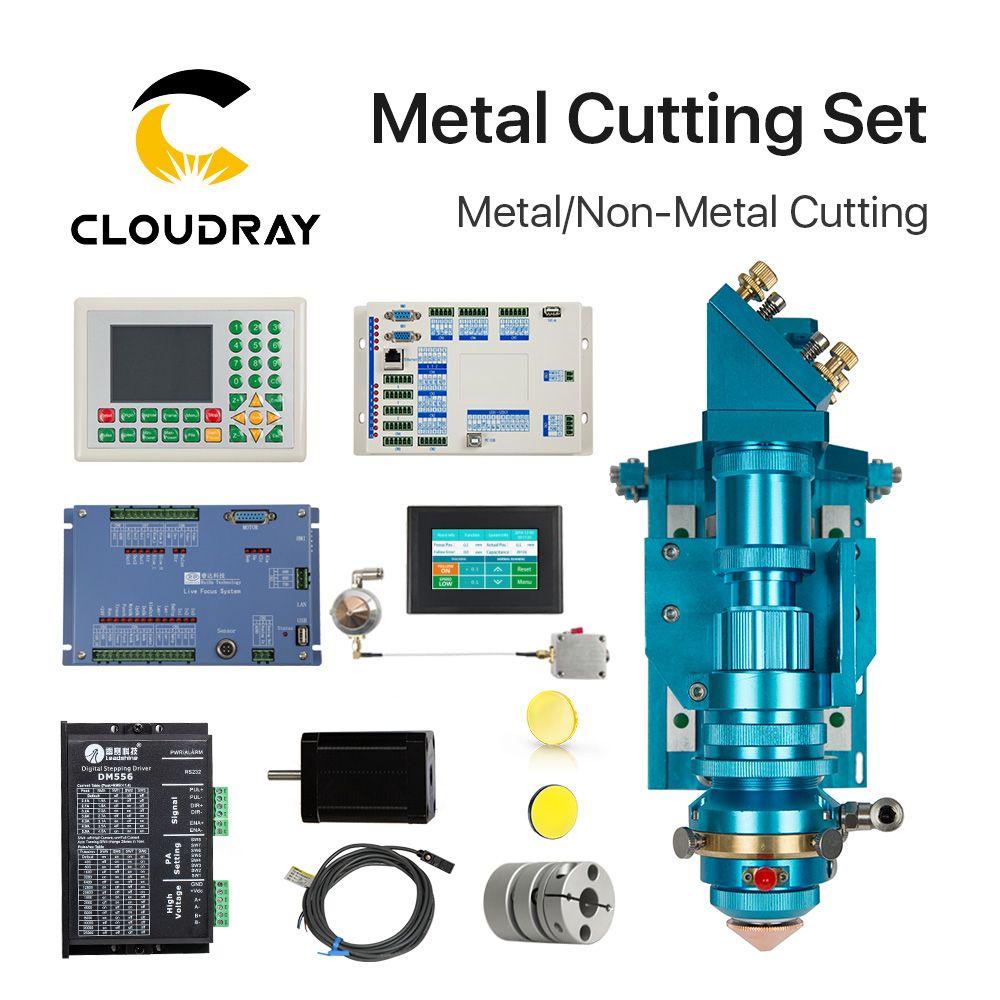Ruida Metall Schneiden Set CO2 Laser 150-500 Watt Metall Nichtmetall Hybrid Autofokus für Laserschneiden maschine
