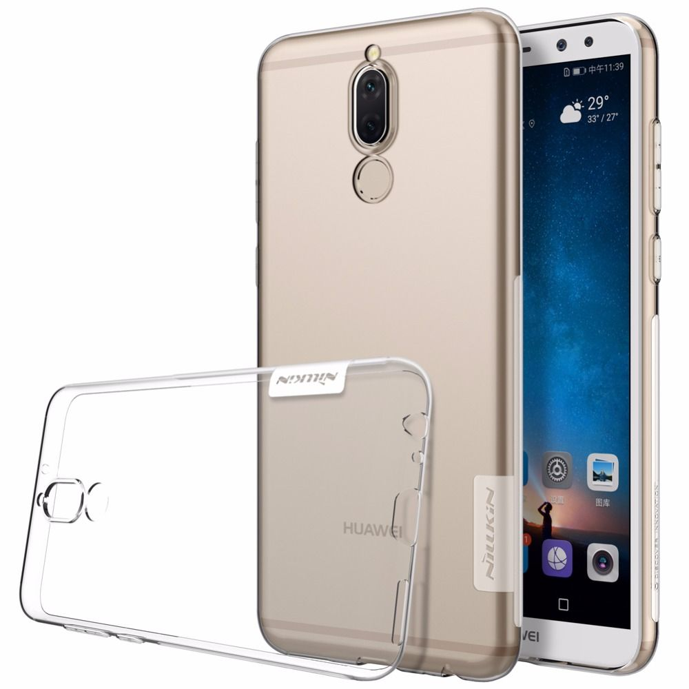 Nillkin Nature For HUAWEI Mate 10 Lite Transparent Soft Silicon TPU Protective Cover For HUAWEI Mate 10 Lite TPU case