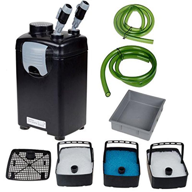 NCFAQUA JEBO 835 3 Bühne Externe Aquarium Kanister Filter für 300 Liter Marine Aquarium Salzwasser Riff Filtration 22 watt 1000L/h