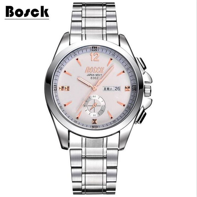 2018 new watch men's quartz fashion Korean version of the simple trend leisure waterproof middle school student youth watch