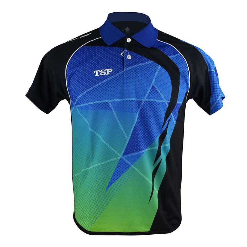 TSP Table Tennis Jerseys (Design in Japan) T-shirts for Men / Women Badminton Ping Pong Cloth Sportswear Training T-Shirts
