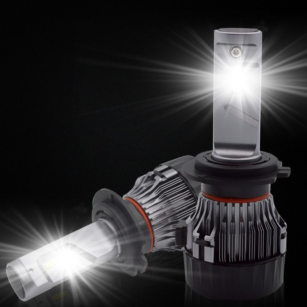 H7 H11 LED Car Headlight Kit - Safego H4 Hi/Lo H8 H9 9005 9006 60W 5000Lm High Quality LED Chips Super Bright Conversion Kit