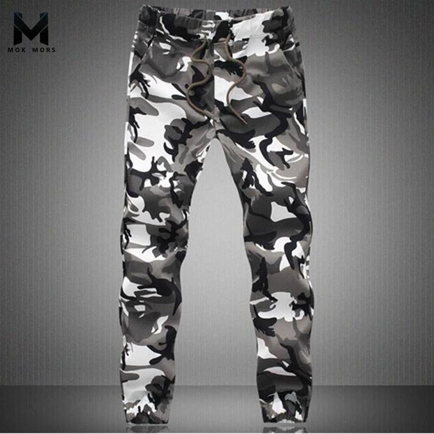 2017 neue Frühlingsmode Marke Männer Hosen Männer Military Camouflage Bleistift Hosen Jogger Jogginghose Armee sweatpan Hosen Hosen 5XL
