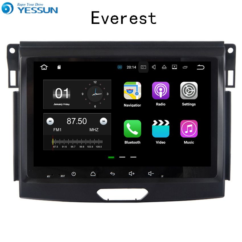 YESSUN Für Ford Everest 2010 ~ 2017 Auto Navigation GPS Android Audio Video HD Touch Screen Stereo Multimedia Player Keine CD DVD