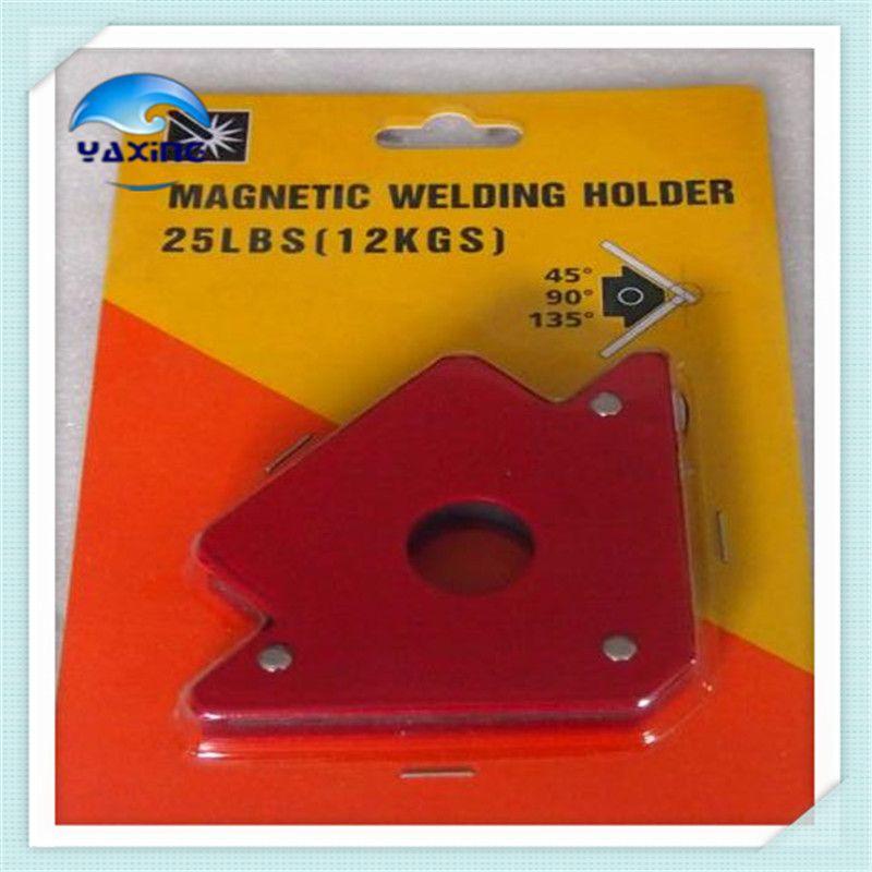 2 PCS 25 Livres Multi-angle De Soudage Aimant/Néodyme Magnétique Clamp pour Maintenir avec la taille de 120*80*15mm