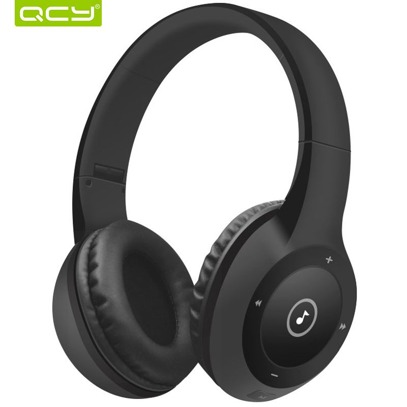 40 hours <font><b>play</b></font> time QCY J1 Bluetooth 3D stereo headphones wireless headset 3.5 mm AUX TF card headphone over the Ear with MIC