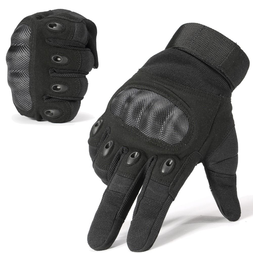 New Brand Tactical Gloves Military Army Paintball Airsoft Shooting Police Carbon Hard Knuckle Combat Full Finger Gloves for Man