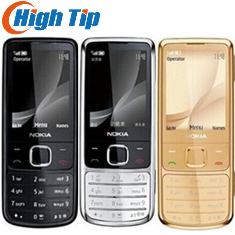 hot <font><b>sell</b></font> Nokia Unlocked Original 6700C 6700 Classic Gold mobile Phones 5MP free leather case Russian Keyboard Free Dropshipping