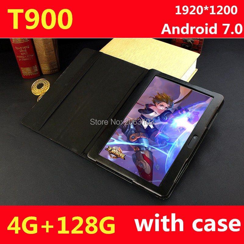 DHL Verschiffen BOBARRY Android 7.0 10,1 zoll MT8752 T900 tablet pc 10 Kern 4 GB RAM 128 GB ROM 1920x1200 IPS 4G LTE Geschenk tabletter