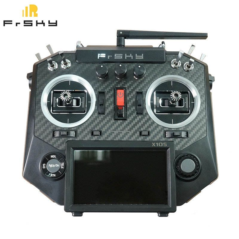 FrSky Horus X10S 16 CH RC Transmitter Mode 2 MC12plus Gimbal Aluminum Packaging Remote Control For RC Toy VS ACCST Taranis Q X7
