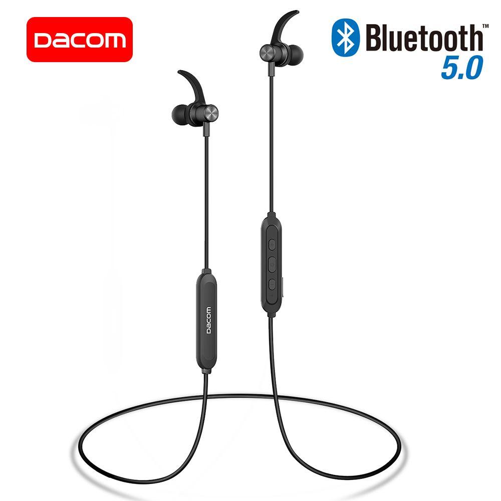 DACOM L15 Wireless Headphones Sports Bluetooth Earphone 5.0 Stereo IPX5 Waterproof Running Headset 10H Music for iPhone Samsung