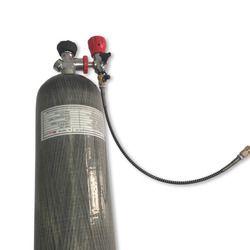 AC168301 6.8L 4500psi ألياف الكربون اسطوانات 4500psi خزان softgun الغوص cylindersbottle مسدس هواء paintbal الأمن و حماية