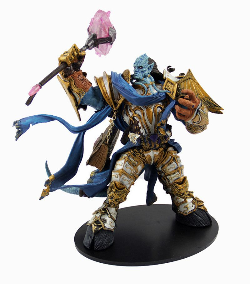 Wow DC Unlimited Serie 2 Deluxe Action Figure 10 zoll Draenei Paladin [Vindicator Maraad] WOW PVC Spielzeug Figur