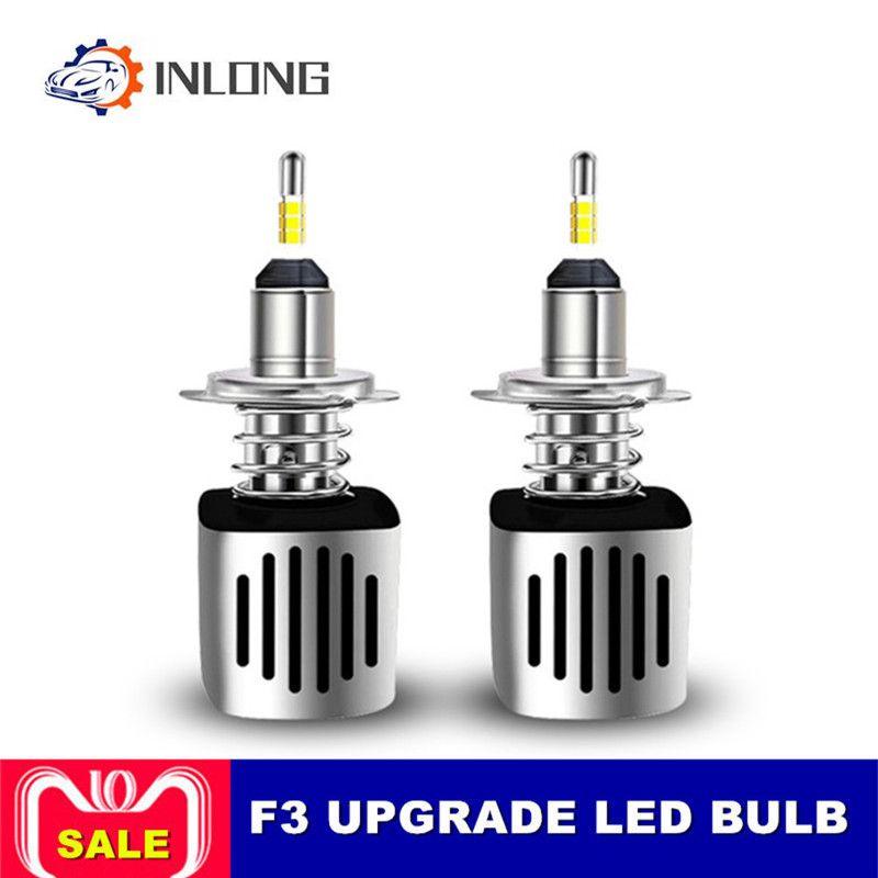 INLONG H11 9005 9006 Auto LED Scheinwerfer Birne H7 H9 H4 D2S D1S HB4 D3S H1 D4S SAMSUNG CSP 60 W 11200LM Scheinwerfer Nebel Lichter 6500 K