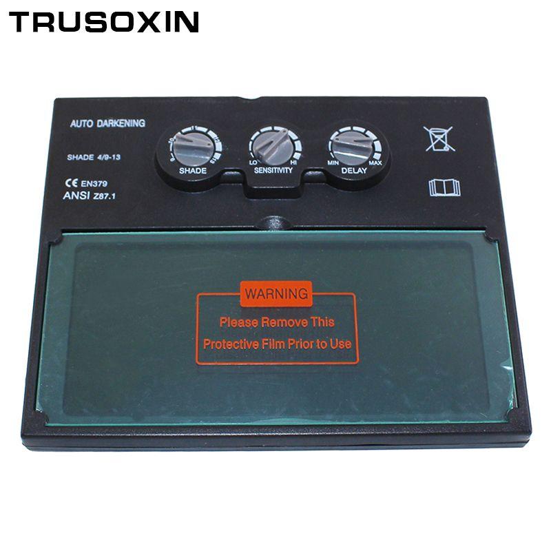 Lentille de filtre de soudure auto-assombrissante/ombrage solaire de batterie de LI pour le masque de soudure et le casque de soudure