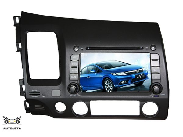 4UI intereface combined in one system CAR DVD PLAYER for Honda Civic 2006 2007 2008 2009 2010 2011 Bluetooth GPS NAVI RADIO MAP