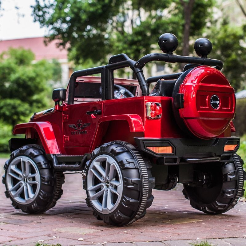 Four-wheel drive SUV children's electric car can sit Oversized four-wheel Four-wheel drive remote-controlled off-road vehicle
