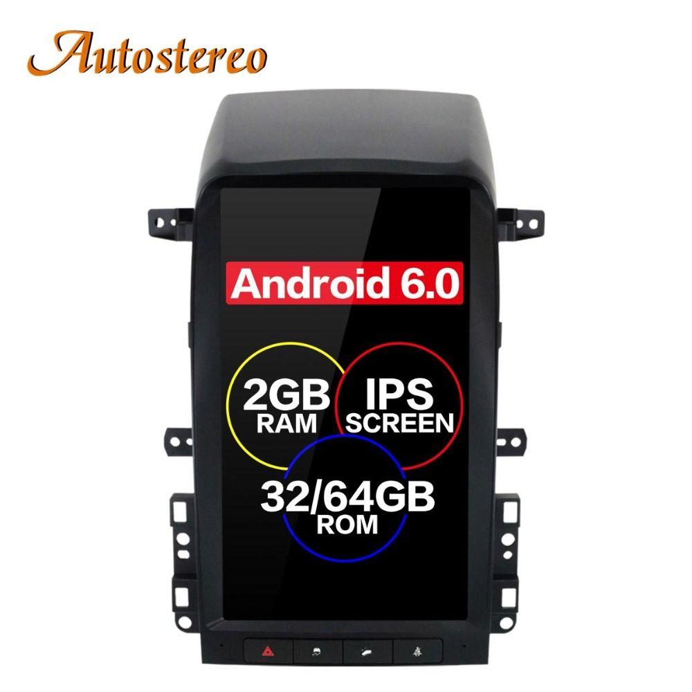 Android 6.0 Tesla stil Auto Keine DVD-Spieler GPS-Navigation Für Chevrolet Captiva 2008 2009 2010 2011 2012 steuergerät multimedia plus
