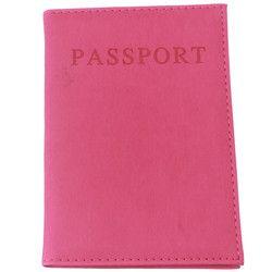 Fashion Faux En Cuir Passeport Voyage Holder Couverture de Carte D'IDENTITÉ Sac Passeport Portefeuille De Protection Sac De Stockage De Douille RD838528