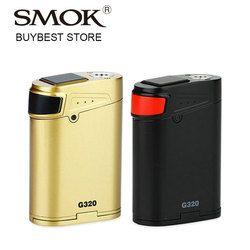 Clearance Sale! 320W Smok G320 Marshal TC Box MOD Smok G-320 untuk TFV8 Bayi Besar Pengabut E Cig Vape MOD Vs smok Aien/Drag 2