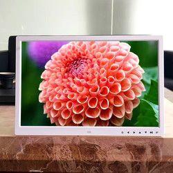 2017  New Fashion 17 inch Vertical Hi-definition HD LCD Digital Photo Frame with Alarm Clock Slideshow MP3/4 Player Black SE6b