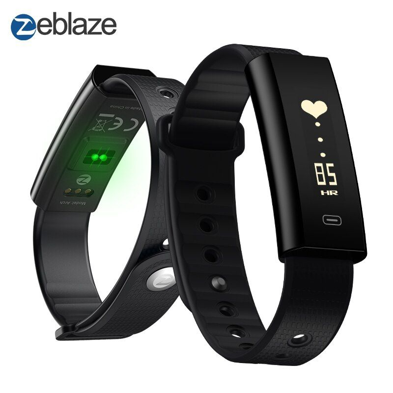 Zeblaze Arch Blood Pressure/Blood Oxygen Smart Wristband Heart Rate Monitor Weekly Health Report IP67 Fitness Bracelet