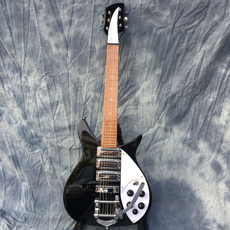 Galilee high quality325 electric guitar,standard size,fingerboard has glossy paint,Black accessories.Real photos!free shipping!!