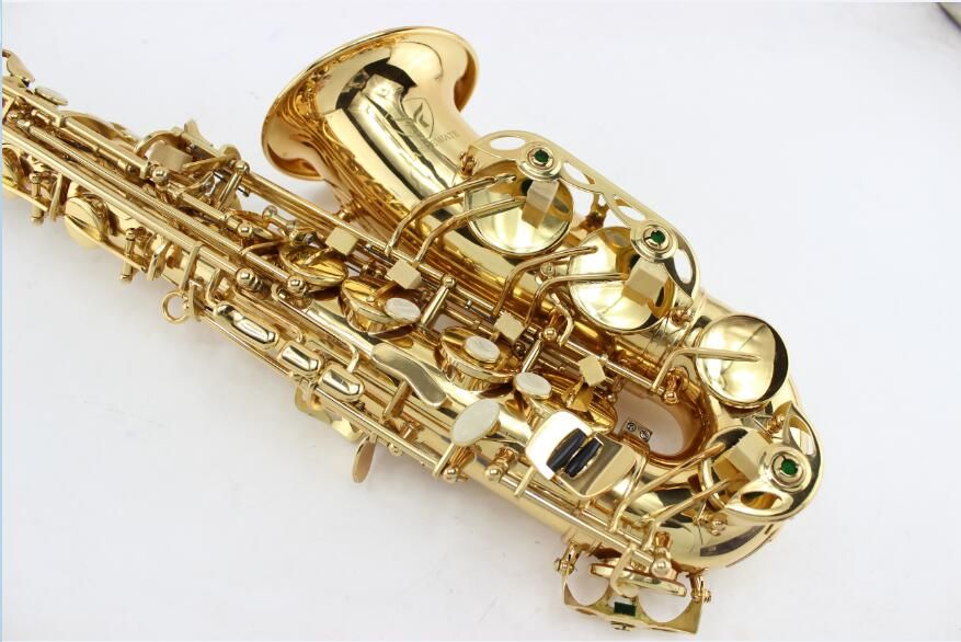 MARGEWATE Saxophone Alto Eb boquilha Saxophone Mouthpiece Alto Sax Electrophoresis Professional Music Instrument Brass