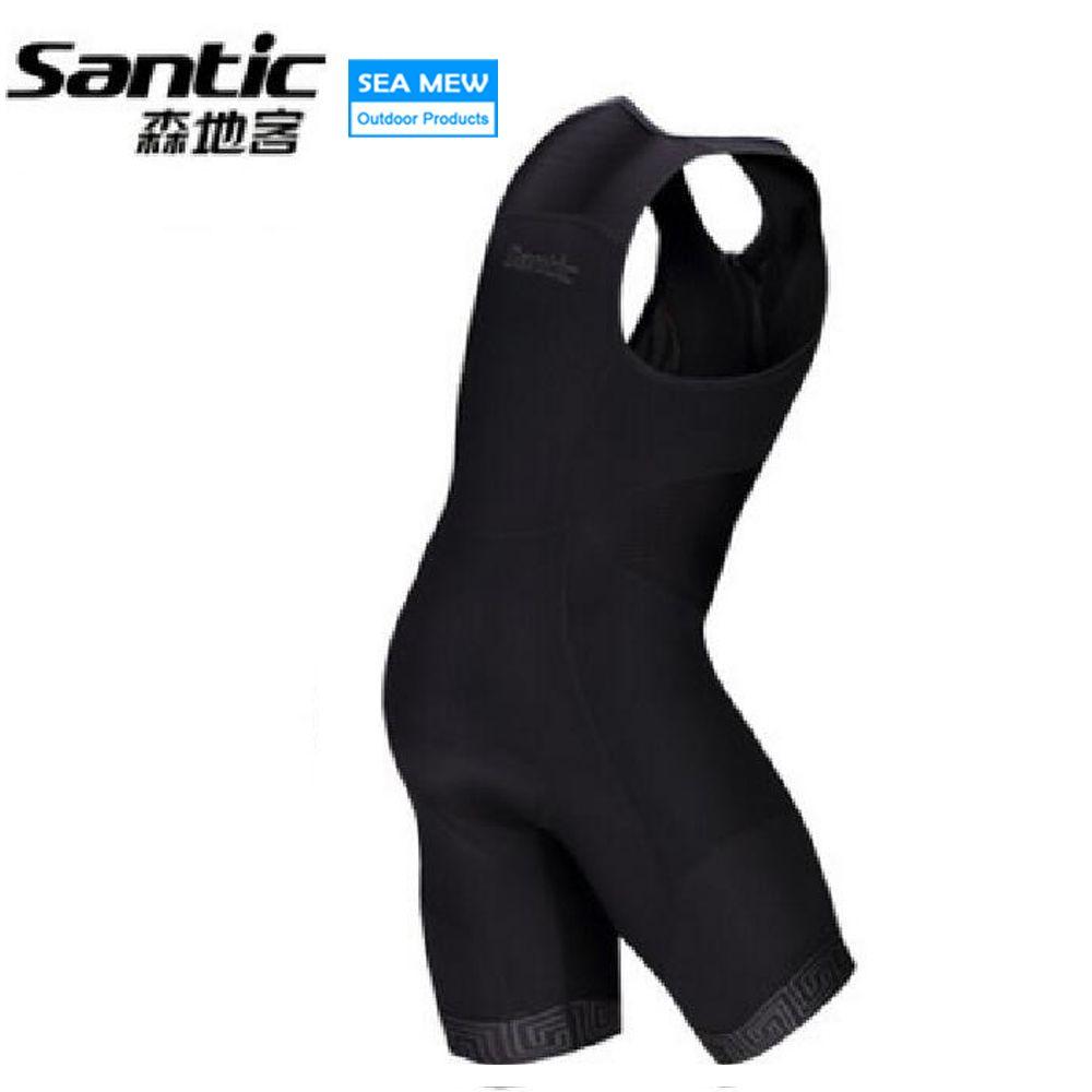 Santic Triathlon MTB Shorts Männer Downhill-Bike Shorts Atmungs Radfahren shorts Sport Kurze Komfortable Pad Bermuda Ciclismo