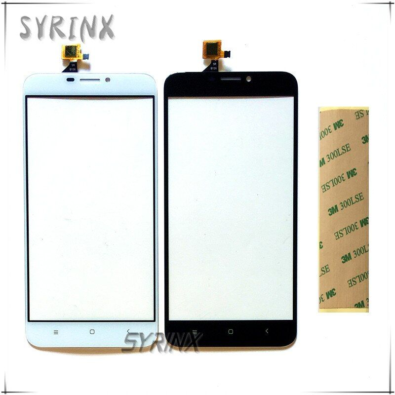 Syrinx With 3M Sticker Moible Phone Touch Panel For Oukitel U20 Plus Touch Screen Digitizer Front Glass Lens Touchscreen Sensor